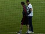 Fernando Hierro y Julen Lopetegui