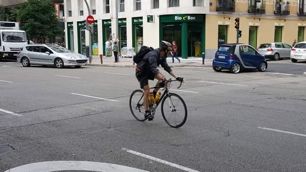 Imagen de un ciclista