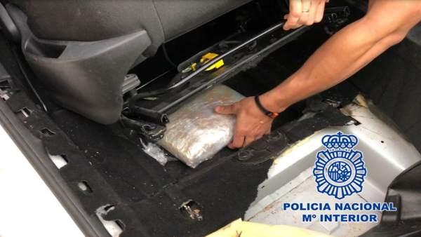Policía Nacional desmantela una red de tráfico de estupefacientes