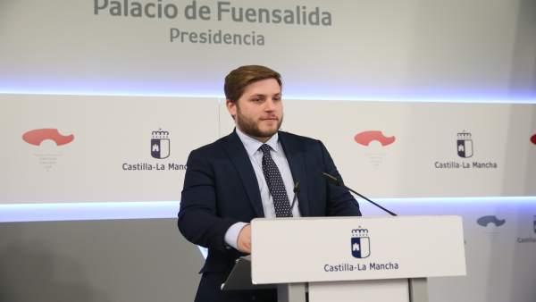 Nacho Hernando, portavoz Gobierno C-LM