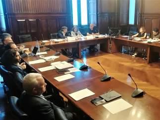 Comissión de investigación del Parlament de los atentados en Cataluña.