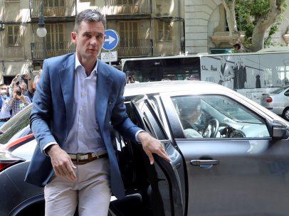 Urdangarin llegada a la Audiencia de Palma
