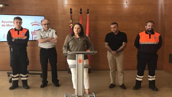 Sánchez presenta el Plan de Protección Civil de Emergencia por incendios foresta
