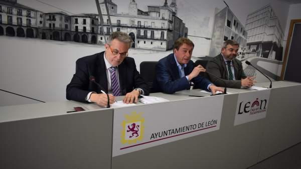 Graciliano Álvarez, García-Prieto y Justo Fernández. 13-6-2018