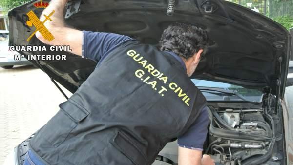 Guardia Civil operación vehículo