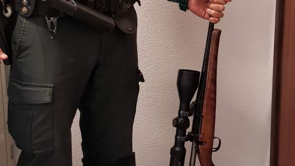 Rifle operación Ciruelos del Pinar
