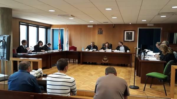Juicio contra cuatro comuneros de Valadares por las lesiones de un ciclista