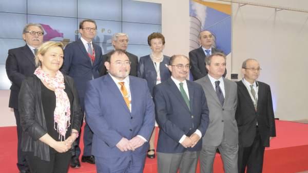 Inauguración de la planta de sílice precipitada de IQE.