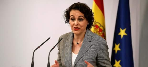 La ministra de Trabajo, Magdalena Valerio