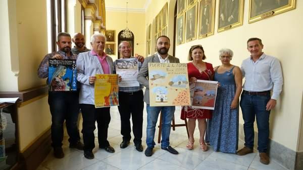 Presentación de la Feria de Puerto de la Torre