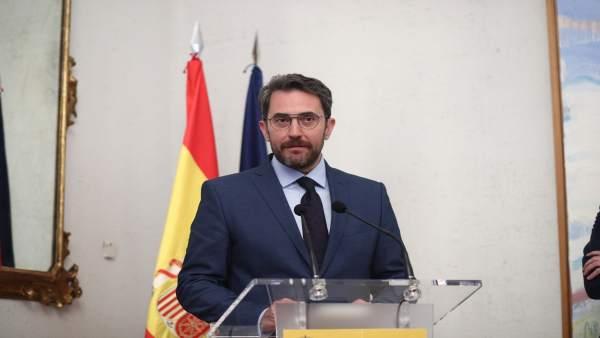 Maxim Huerta tomará posesión como ministro de Cultura y Deportes