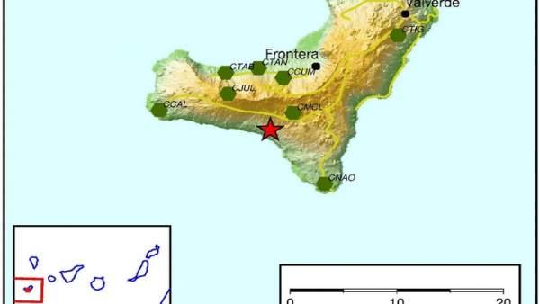 Terremoto en El Pinar
