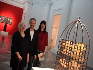 Presentación de la exposición 'El largo viaje', de Teresa Cebrián