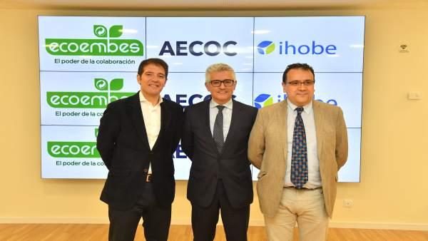 Responsables de Ihobe, Ecoembes y AECOC