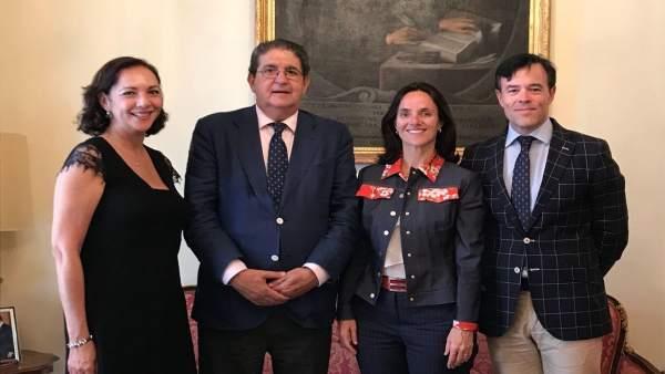 Encuentro de trabajo entre Asnala y el Colegio de Abogados de Sevilla