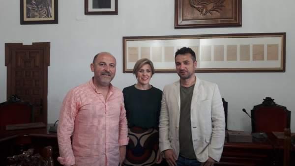 AUGC se reúne con la alcaldesa de Montoro