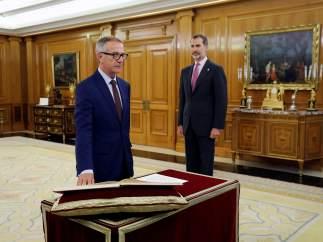 Guirao promete su cargo ante Felipe VI.