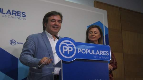 Diego Movellán y Ana Madrazo