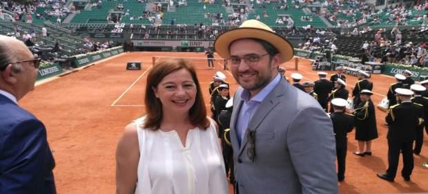 Armengol y Huerta en la final de Roland Garros