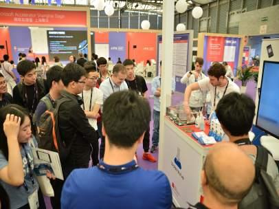 Delegació al Mobile World Congress de Shangai