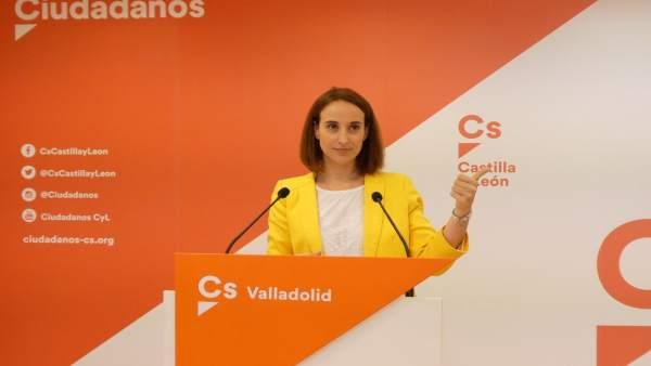 Pilar Vicente en rueda de prensa,14-6-18