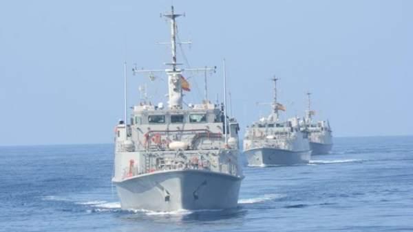 Cazaminas de la Armada