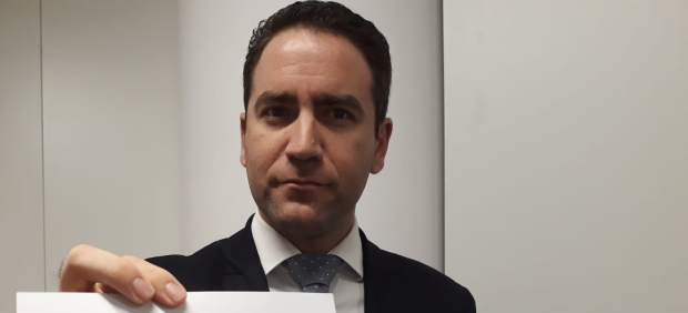Teodoro García Egea, diputado del PP