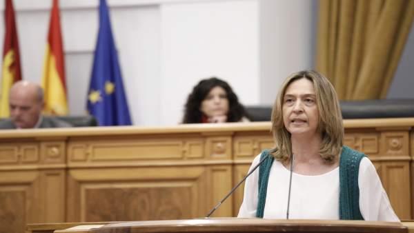 Ana Guarinos, PP, en el pleno de las Cortes