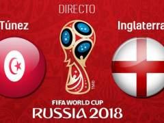 EN DIRECTO: Túnez - Inglaterra | Mundial de Rusia 2018