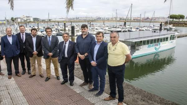 Presentación del nuevo barco de Metaltec Naval