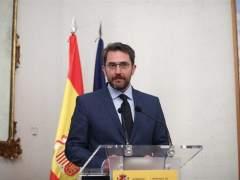 Màxim Huerta, en una comparecencia ante los medios.