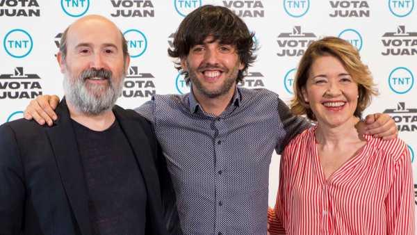 Javier Cámara, Diego San José y María Pujalte.