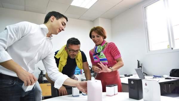 La delegada territorial de Economía, Gema Pérez