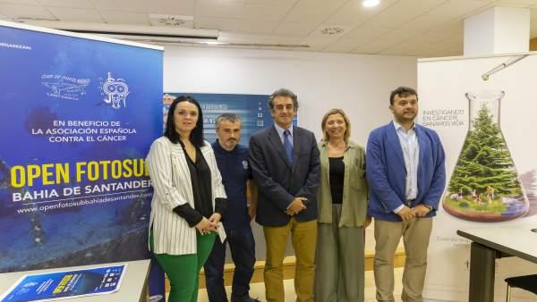 Presentación del I Open FotoSub Bahía de Santander