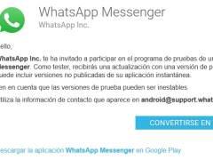 Cómo tener lo último de Whatsapp antes que nadie