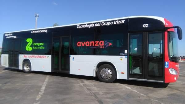 Autobús 100% eléctrico