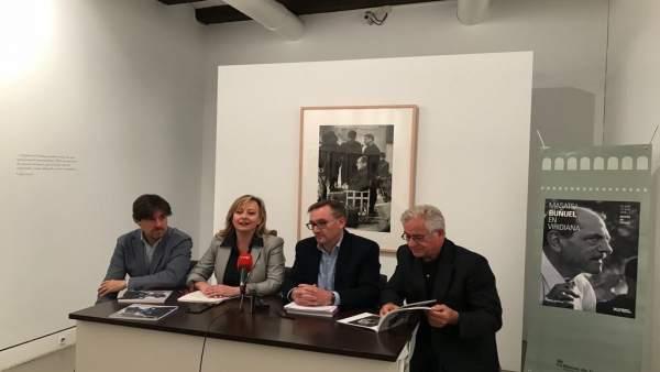 Presentación de la exposición en el Museo de Teruel.