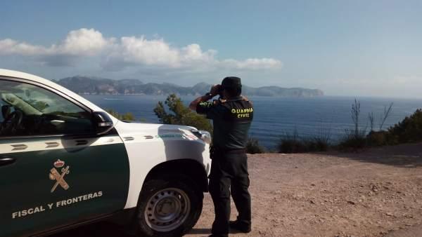La Guardia Civil busca al piloto desaparecido