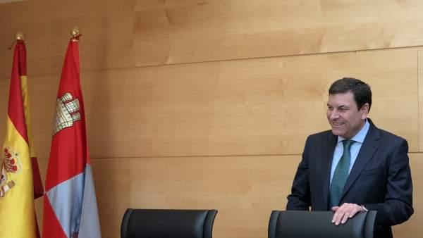 Carlos Fernández Carriedo en las Cortes, 14-6-18