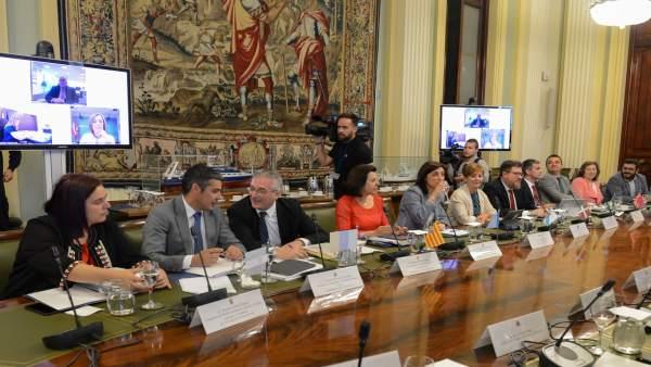 Elizalde, en la sesión del Consejo Consultivo de Política Agrícola