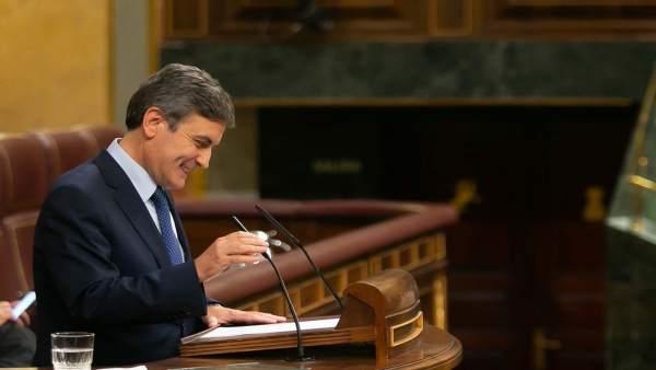 El portavoz de Economía del PSOE en el Congreso, Pedro Saura