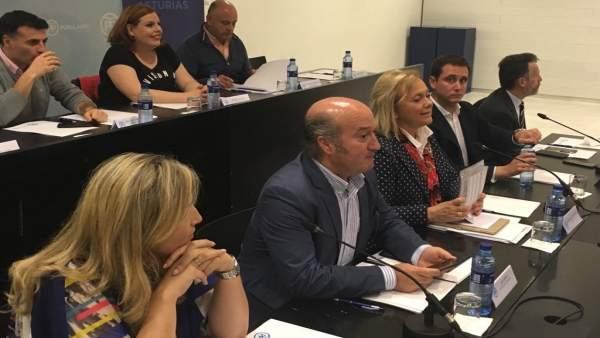 Directiva del PP de Asturias