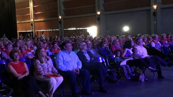 Celebración del X aniversario del Cuerpo de Voluntariado de Zaragoza