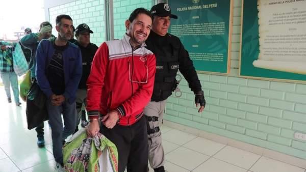 Presos españoles repatriados