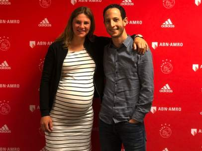Chantal de Ridder, jugadora del Ajax femenino.