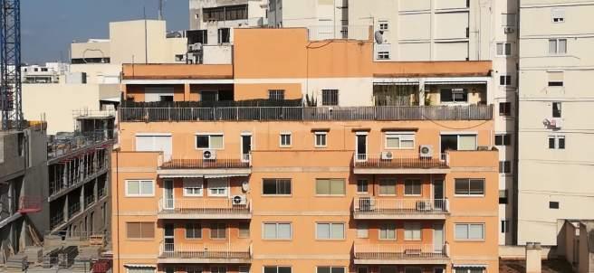 Bloques de pisos.
