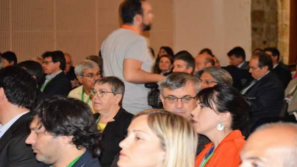 Asistentes a la 29 Trobada Empresarial al Pirineu, en la Seu d'Urgell