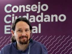 Pablo Iglesias, secretario general de Podemos, este viernes.