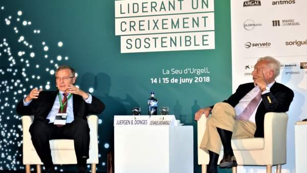 Juergen B.Donges (economista) José Manuel Garcia-Margallo (PP)