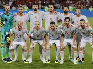 Las mejores fotos del debut de España en el Mundial de Rusia 2018